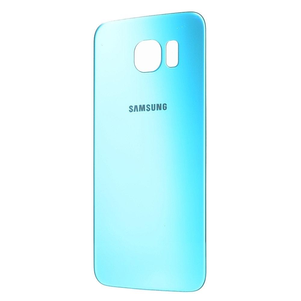 Samsung Galaxy S6 zadní kryt baterie modrý Blue Topaz G920F