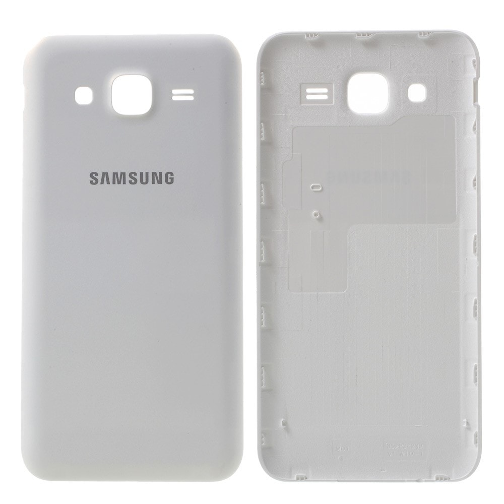 Samsung Galaxy J5 2015 zadní kryt baterie bílý J500F