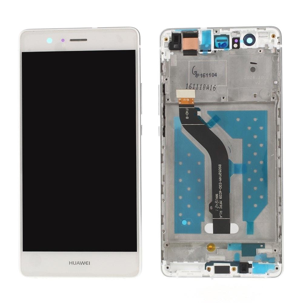 Huawei P9 Lite LCD displej dotykové sklo komplet včetně rámečku bílý