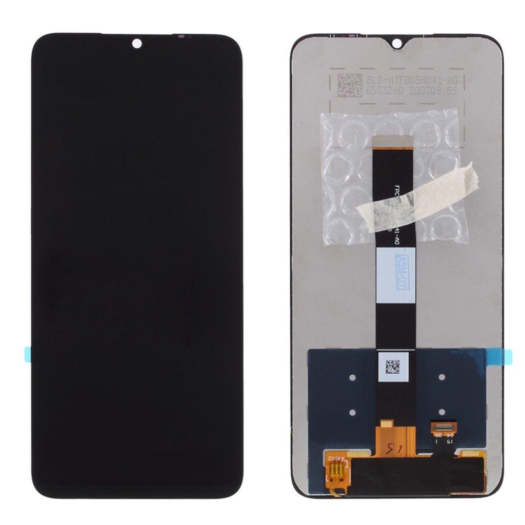 Xiaomi Redmi 9A / 9C LCD displej černý dotykové sklo komplet
