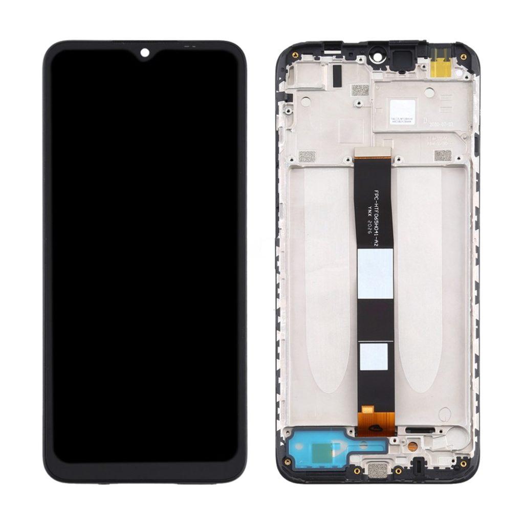 Xiaomi Redmi 9A / 9C LCD displej dotykové sklo přední panel včetně rámečku