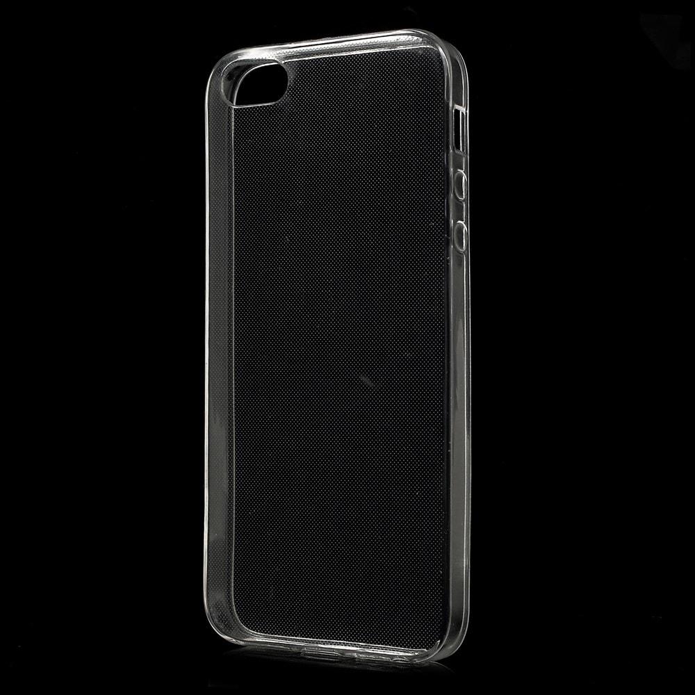 Apple iPhone 5 5S SE silikonový  ochranný transparentní kryt