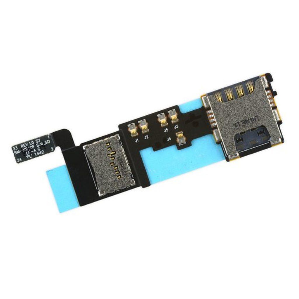 Samsung Galaxy Note 4 čtečka SIM reader Micro SD N910F