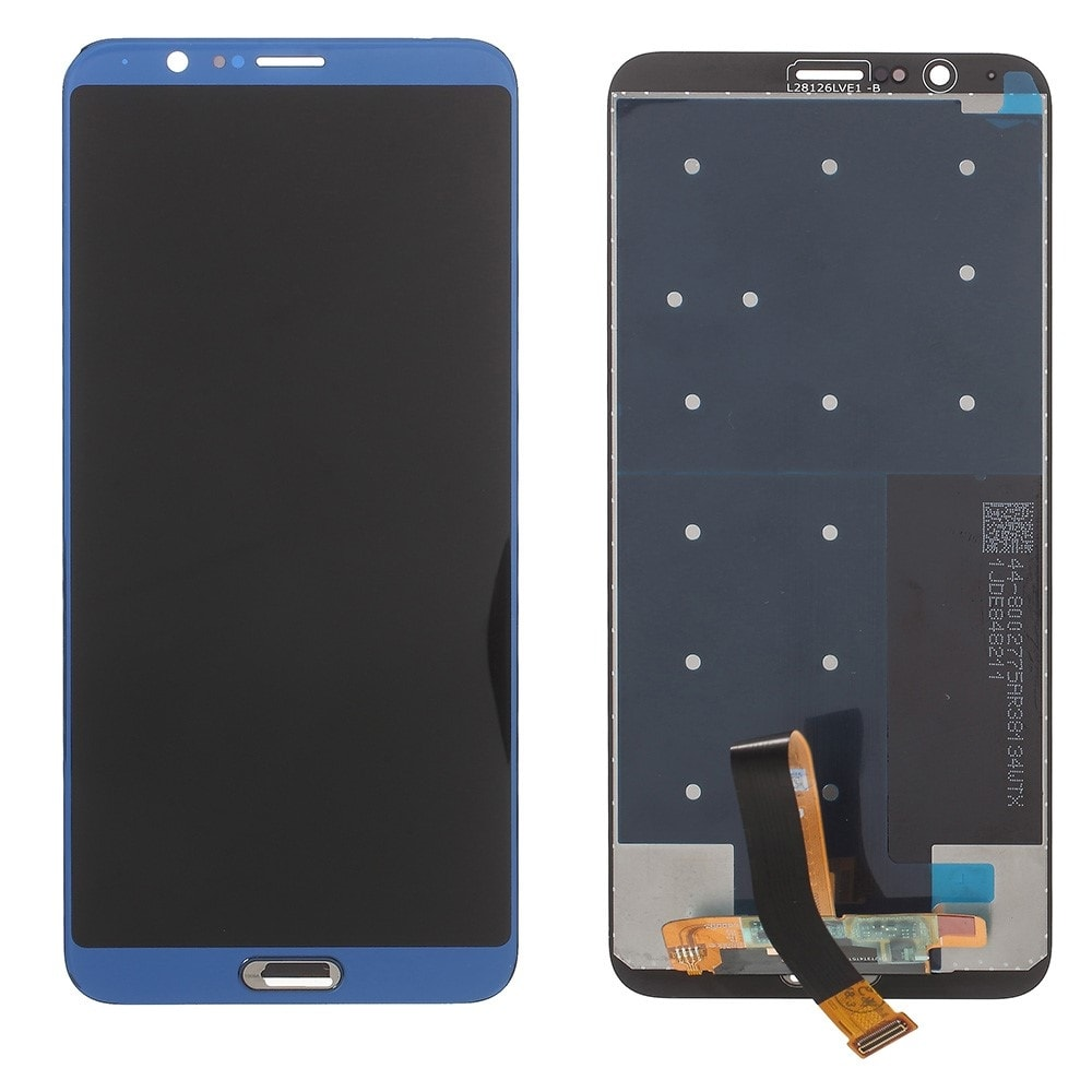 Honor V10 / View 10 LCD displej dotykové sklo komplet přední panel modrý
