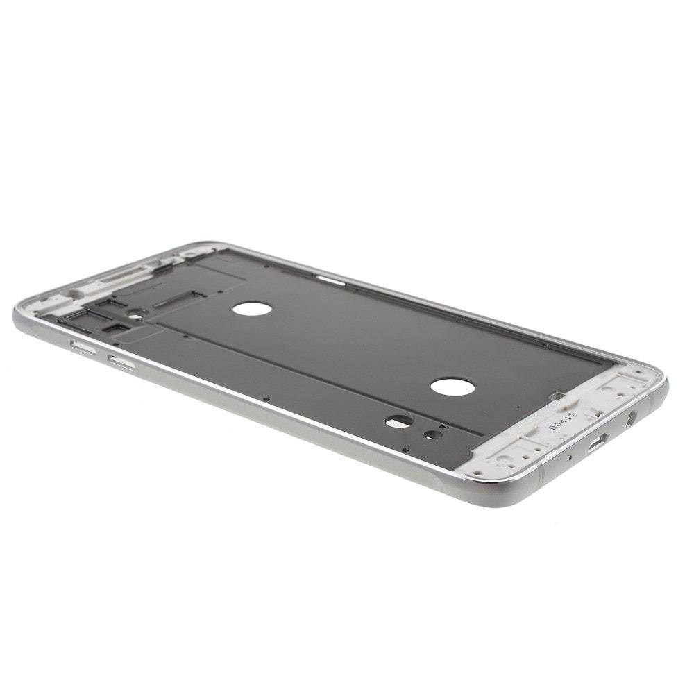 Samsung Galaxy J7 (2016) SM-J710 rámeček středový kryt telefonu stříbrný
