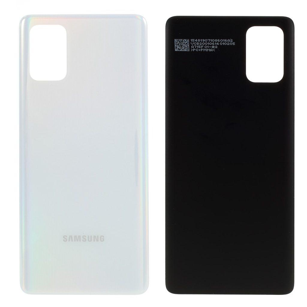 Samsung Galaxy A71 zadní kryt baterie bílý A715
