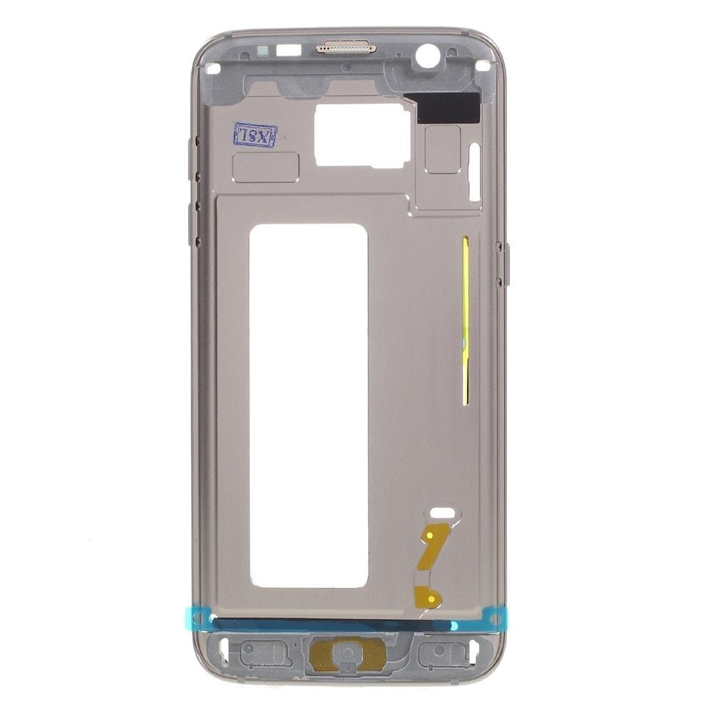 Samsung Galaxy S7 edge G935 středový rámeček zlatý