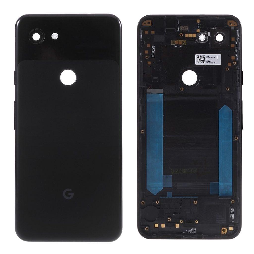 Google Pixel 3A zadní kryt baterie černý G020A G020E G020B