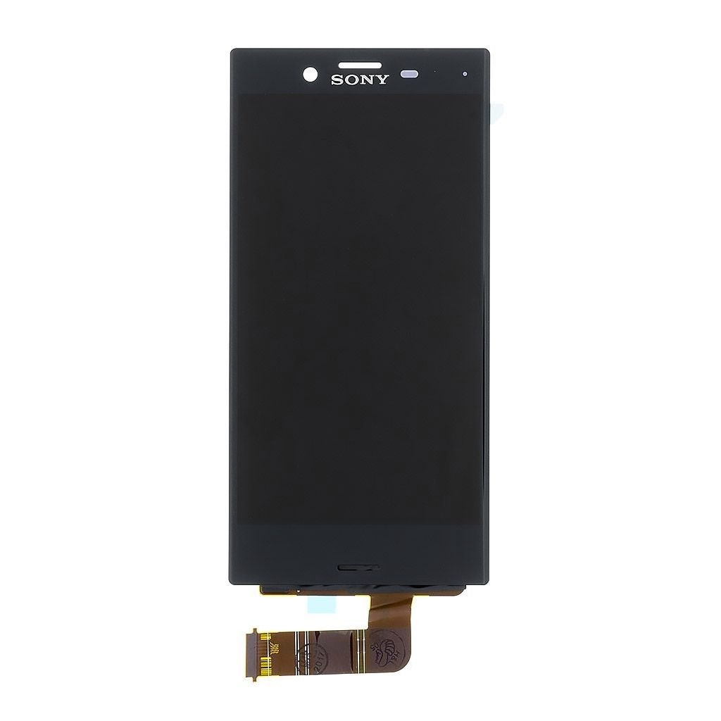 Sony Xperia X Compact LCD displej dotykové sklo komplet přední panel černý F5321