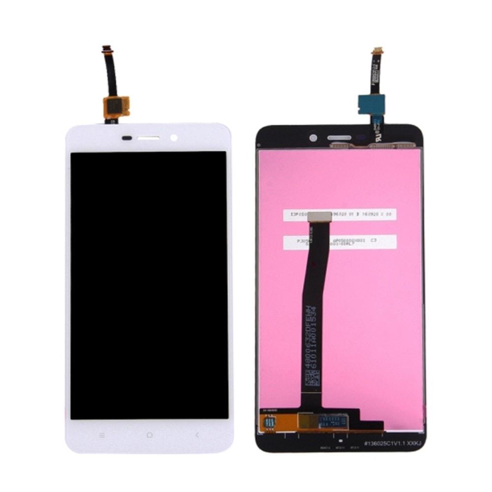 Xiaomi Redmi 4A LCD displej bílý dotykové sklo komplet