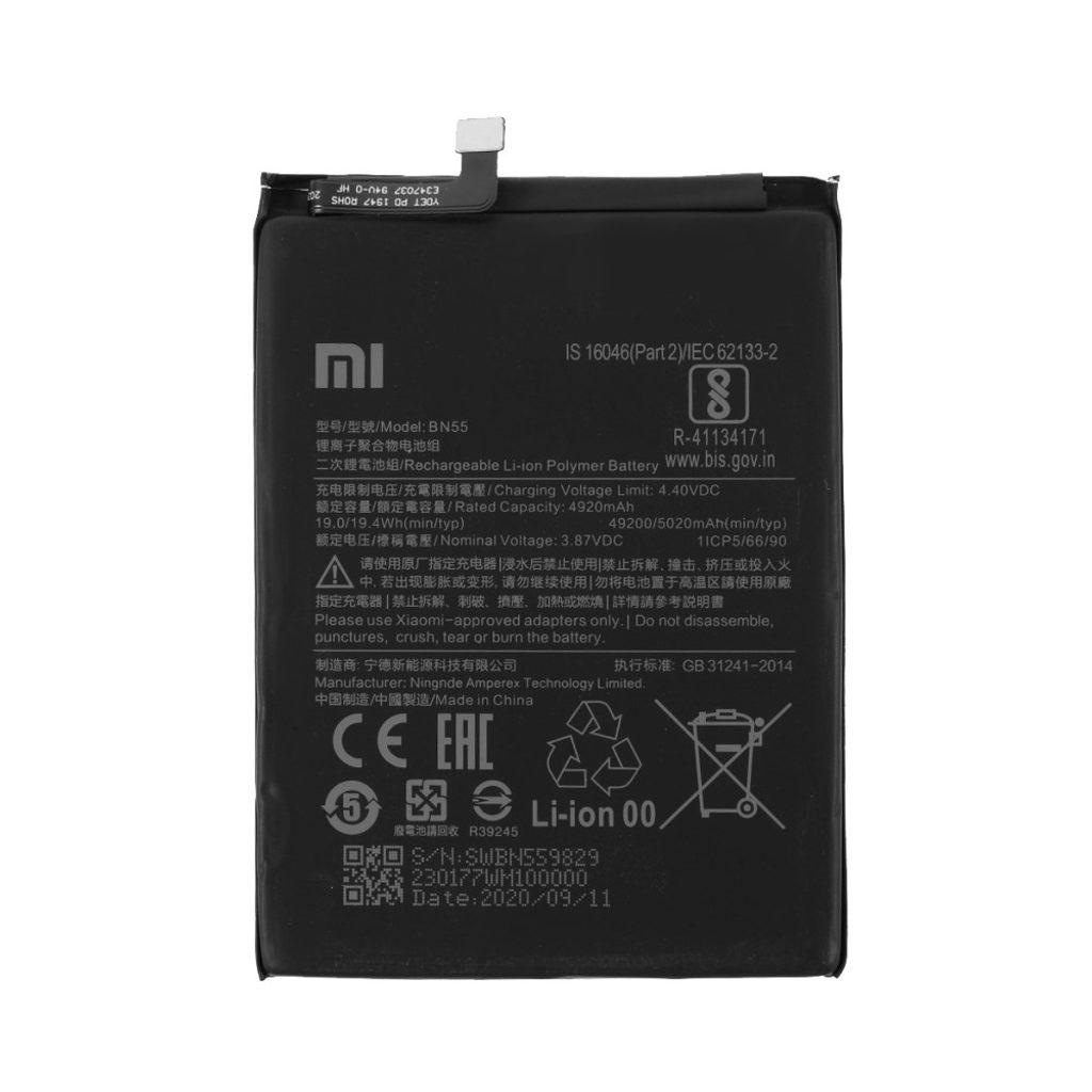 Xiaomi Redmi Note 9S baterie BN55