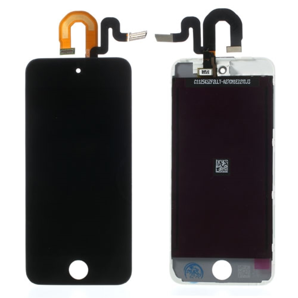 Apple iPod Touch 6 gen / 5 gen. LCD dotykové sklo černé