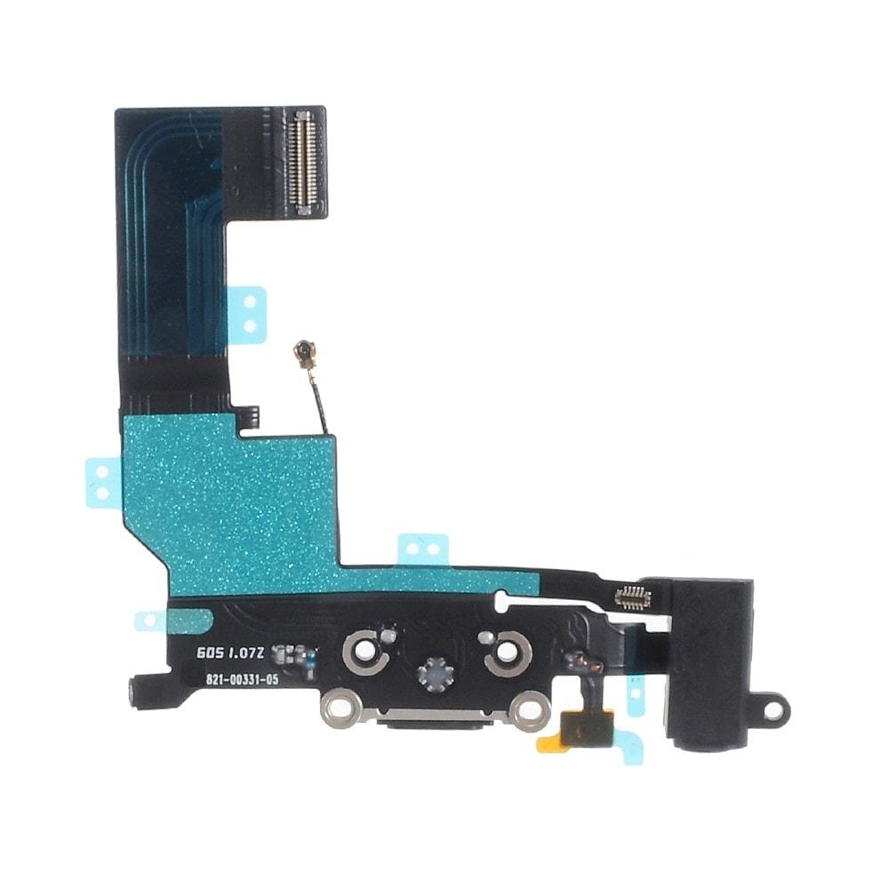 Apple iPhone SE nabíjecí konektor dock spodní napájecí port černý