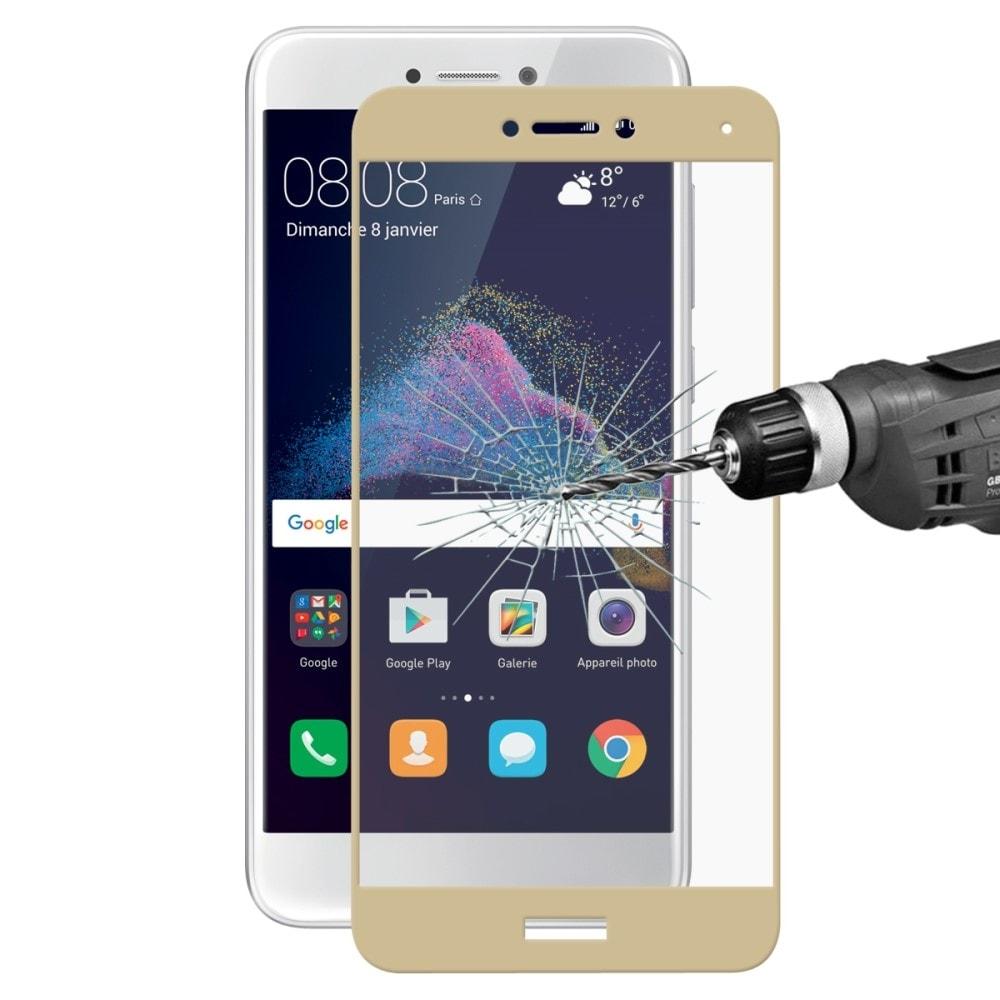 Huawei P9 Lite 2017 / Honor 8 Lite Ochranné tvrzené sklo na celou přední plochu zlaté