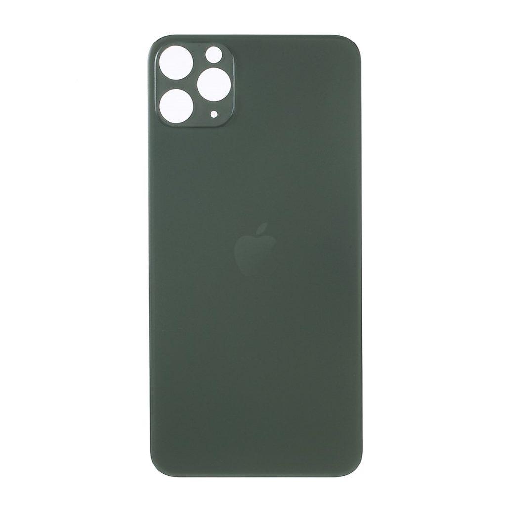 Apple iPhone 11 Pro Max zadní skleněný kryt baterie zelený s větším otvorem pro kamery
