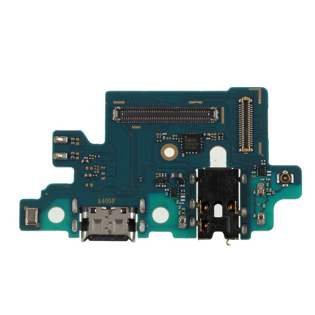 Samsung Galaxy A40 nabíjecí usb konektor audio mikrofon A405 (Service Pack)