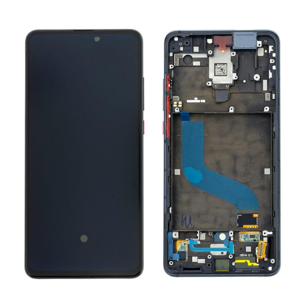 Xiaomi Mi 9T LCD displej dotykové sklo komplet včetně rámečku černý