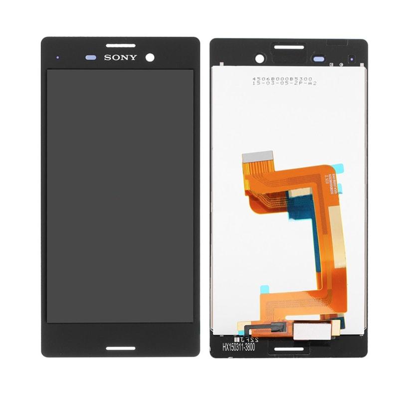 Sony Xperia M4 aqua LCD displej černý + dotykové sklo komplet E2303