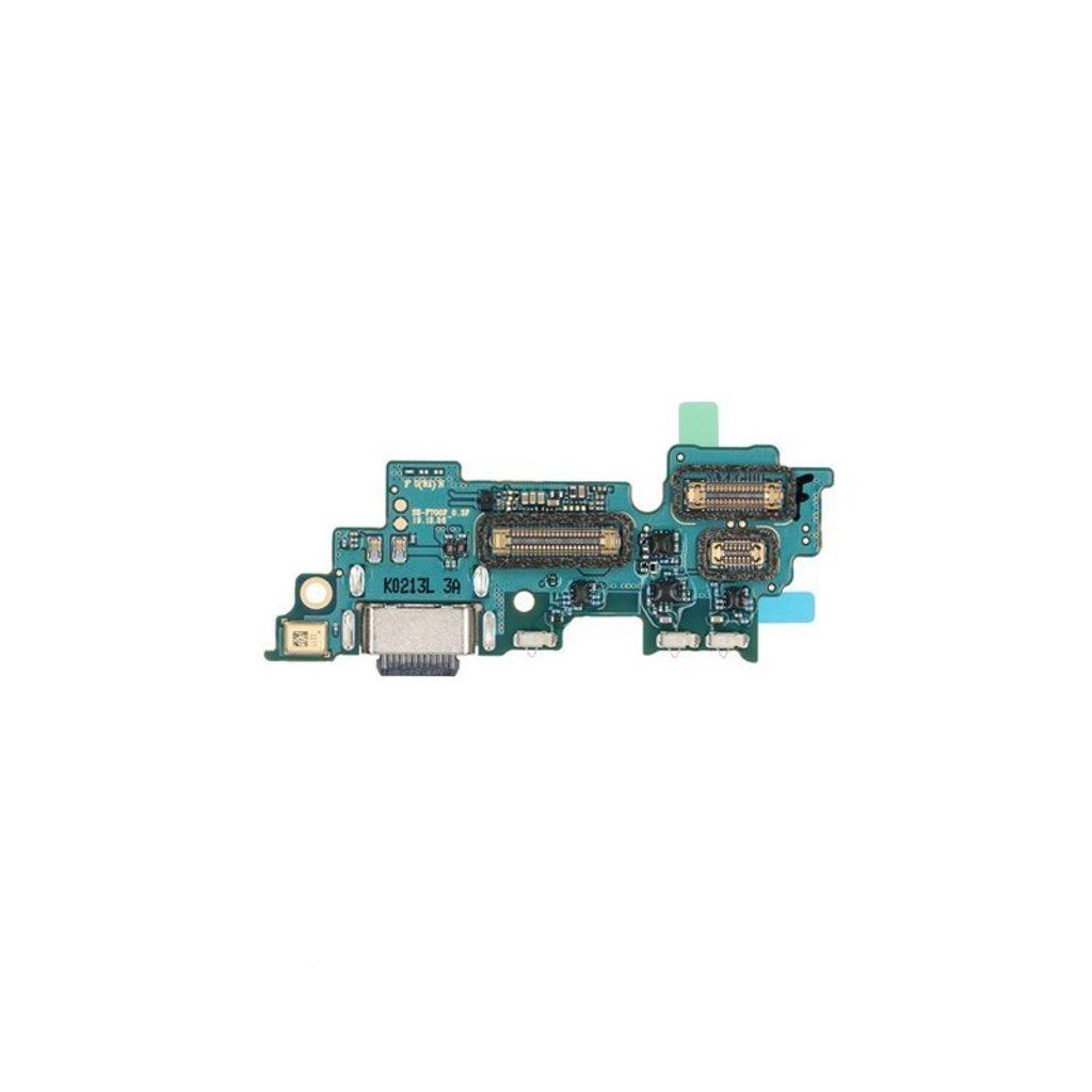 Samsung Galaxy Z Flip dock konektor nabíjení port USB-C flex mikrofon F707 (Service Pack)