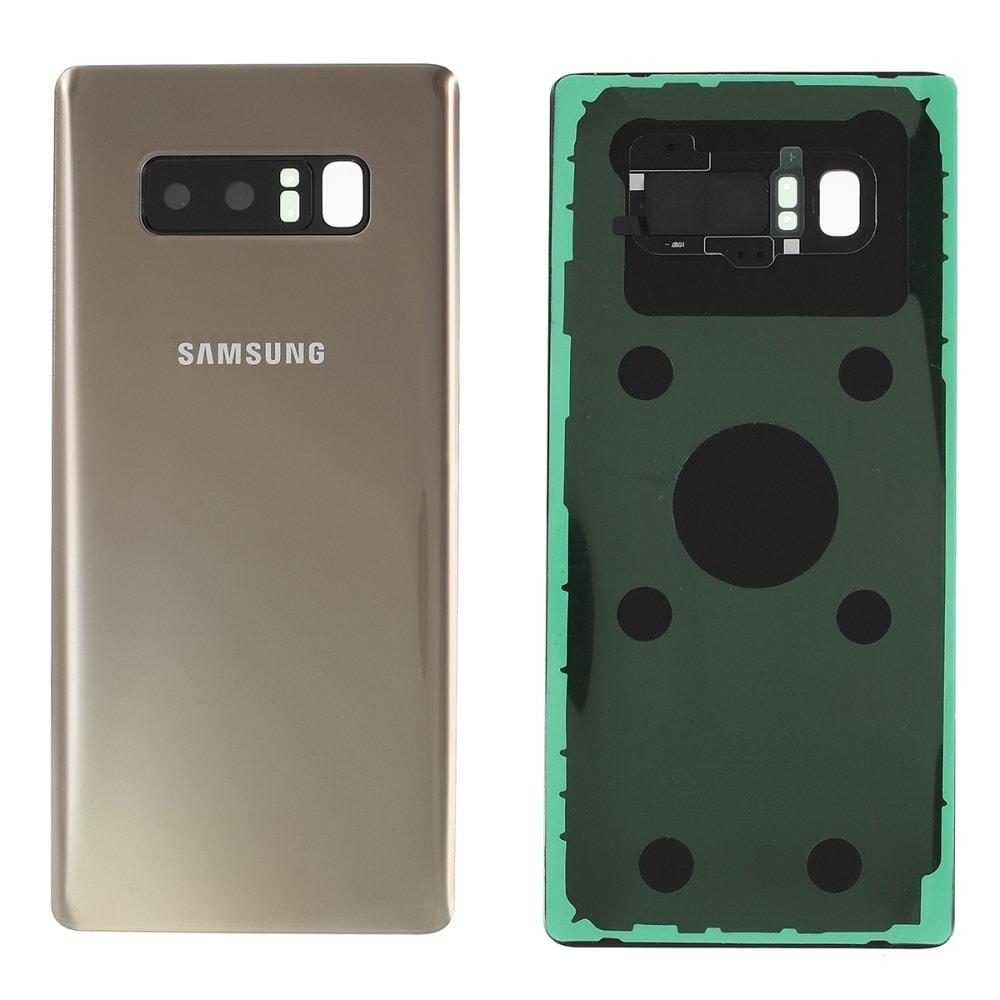 Samsung Galaxy Note 8 Zadní kryt baterie zlatý včetně osázení krytky fotoaparátu N950