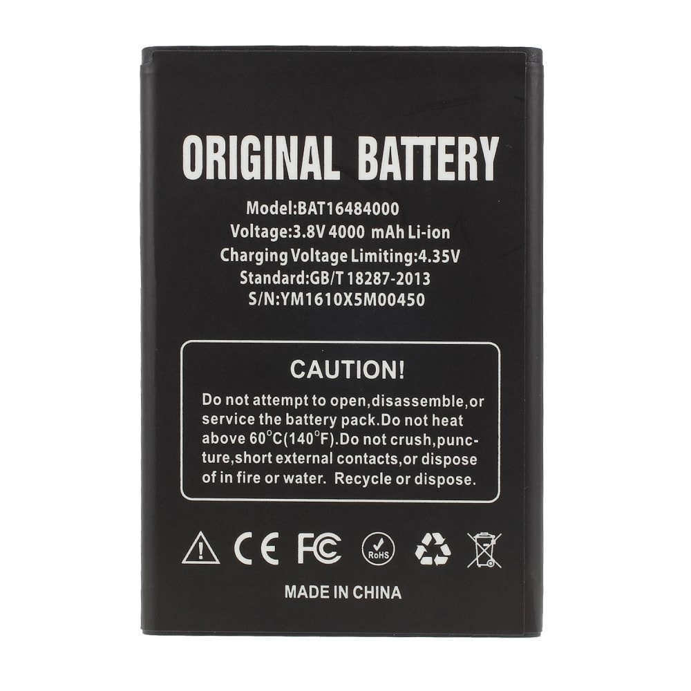 Doogee X5 MAX Baterie 4000mAh BAT16484000