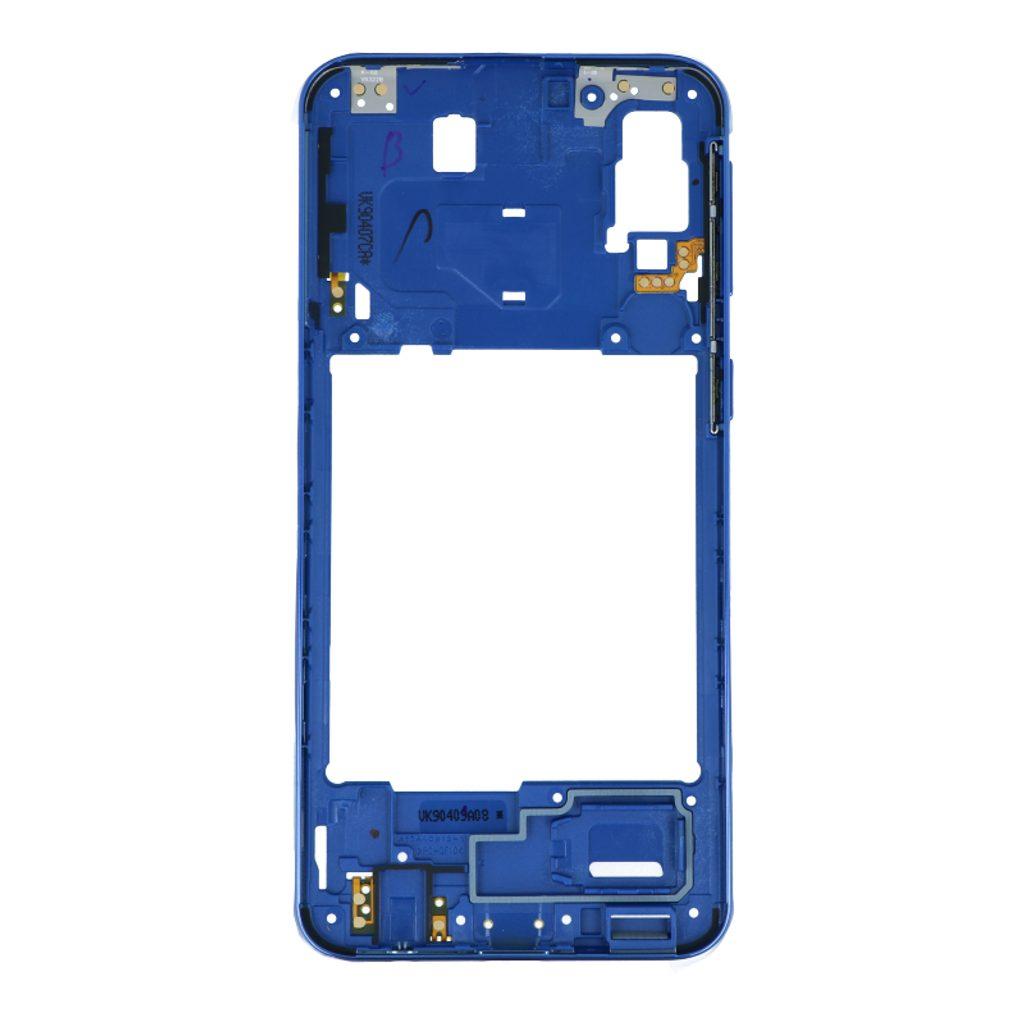 Samsung Galaxy A40 středový rámeček střední kryt modrý A405