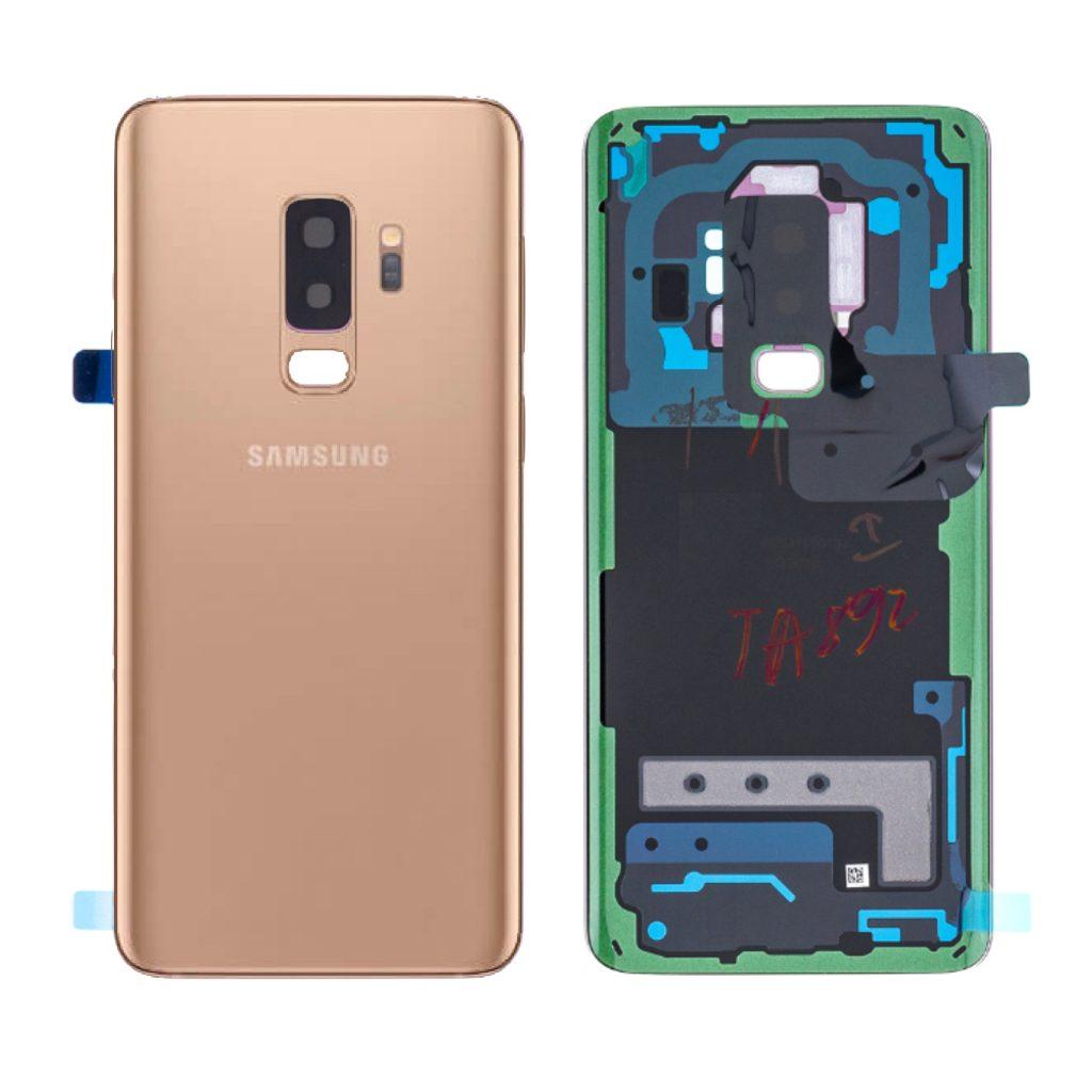 Samsung Galaxy S9+ Plus zadní kryt baterie Zlatý G965 (Service Pack)