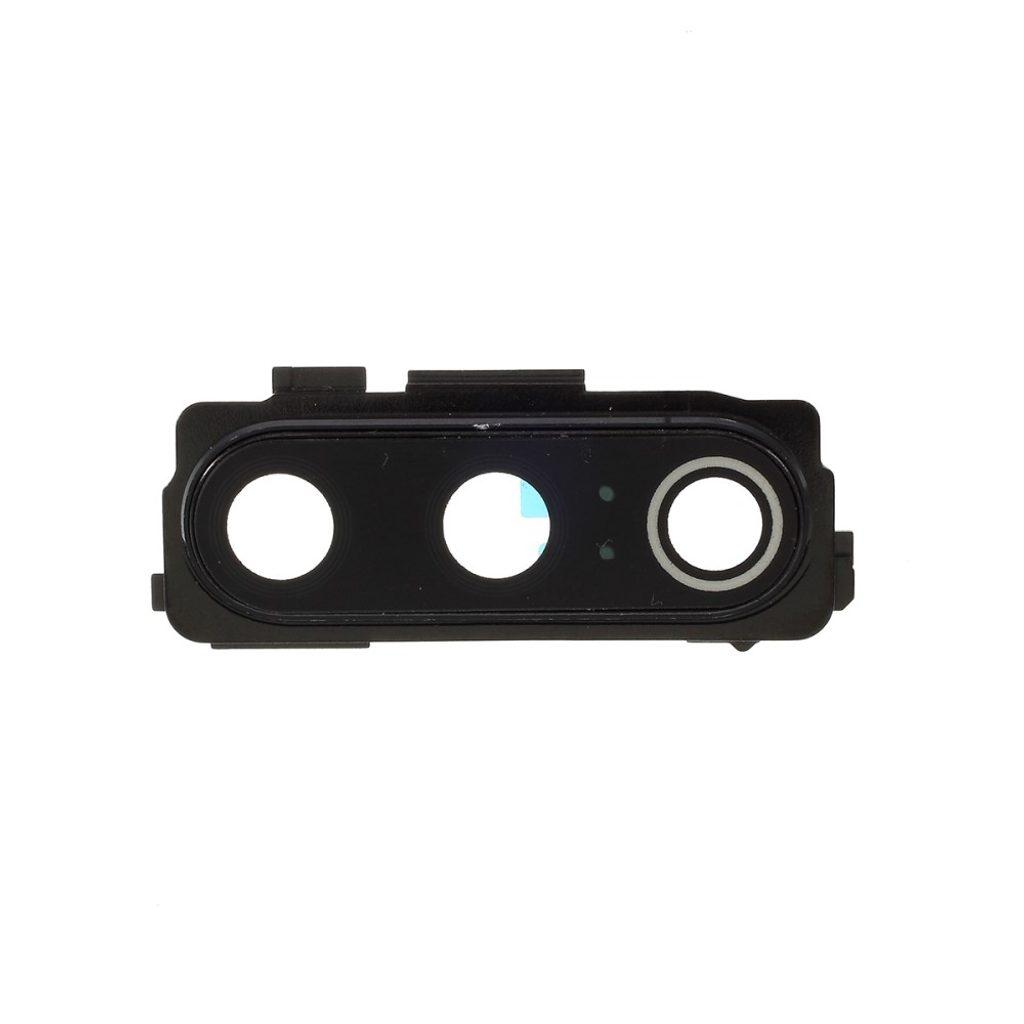 Xiaomi Mi 9 krytka čočky fotoaparátu černá včetně rámečku sklíčka kamery