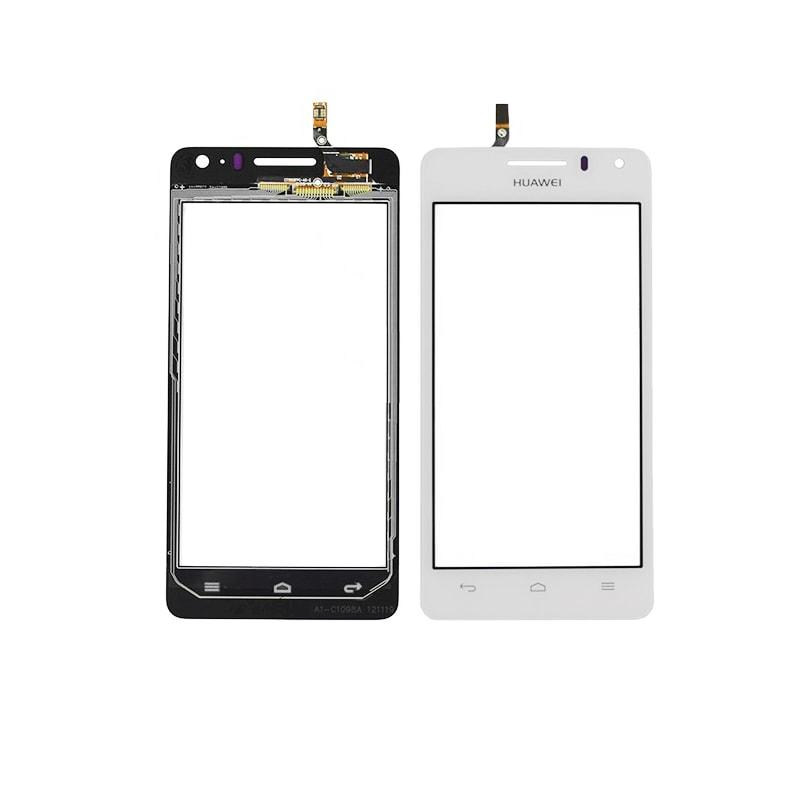 Huawei Ascend G600 dotykové sklo bílé