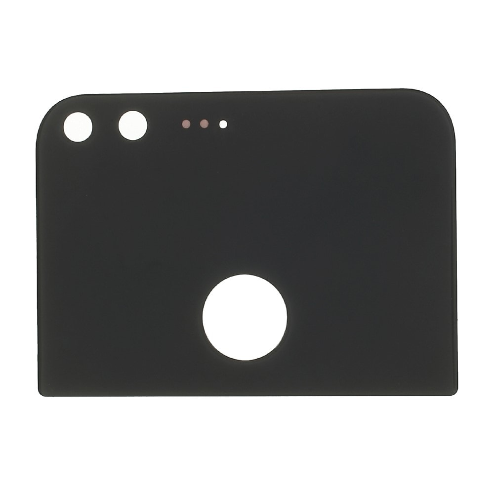 Google Pixel XL zadní horní skleněná krytka černá M1