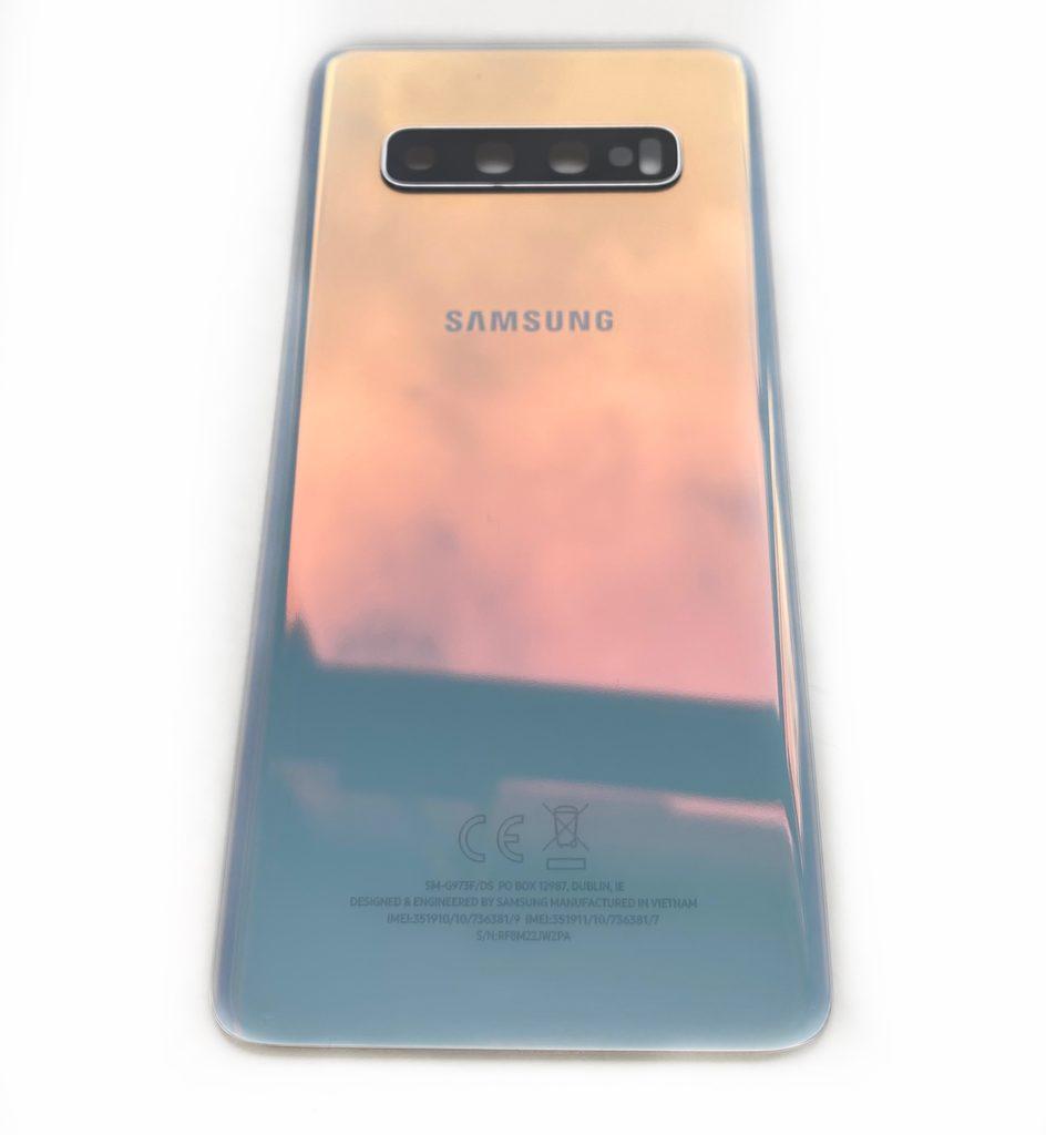 Samsung Galaxy S10 zadní kryt baterie bílý originál (použitý) G973