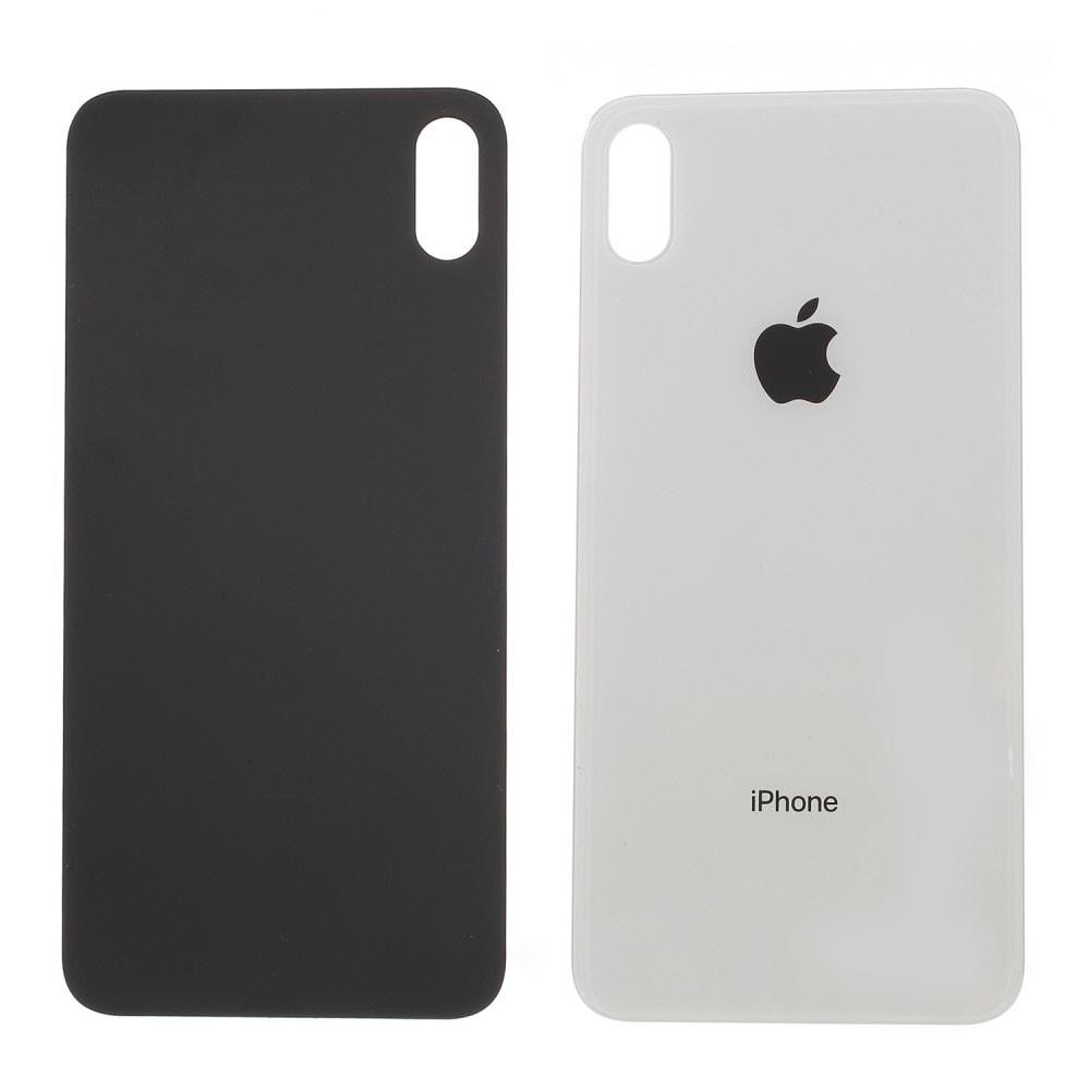 iPhone XS MAX zadní kryt baterie bílý skleněný
