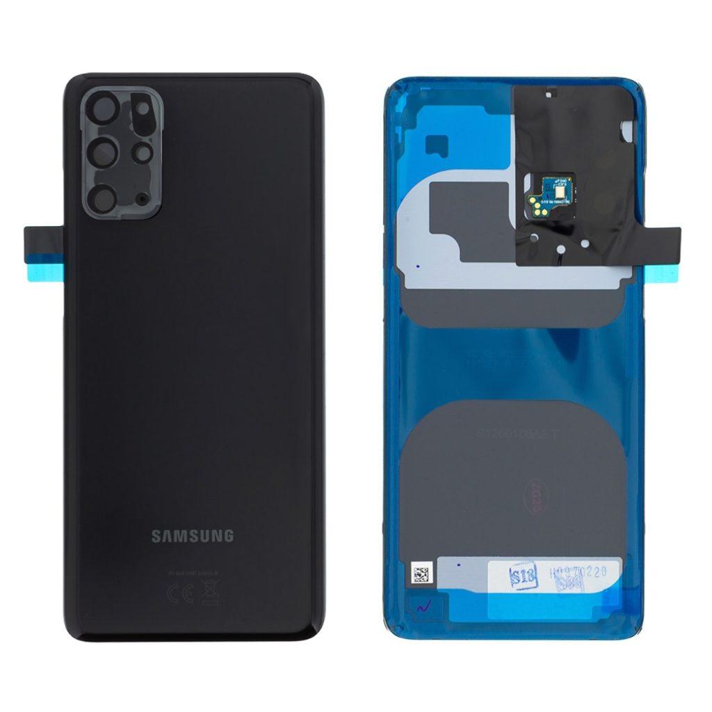 Samsung Galaxy S20+ Zadní kryt baterie Cosmic Black G985 (Service Pack)