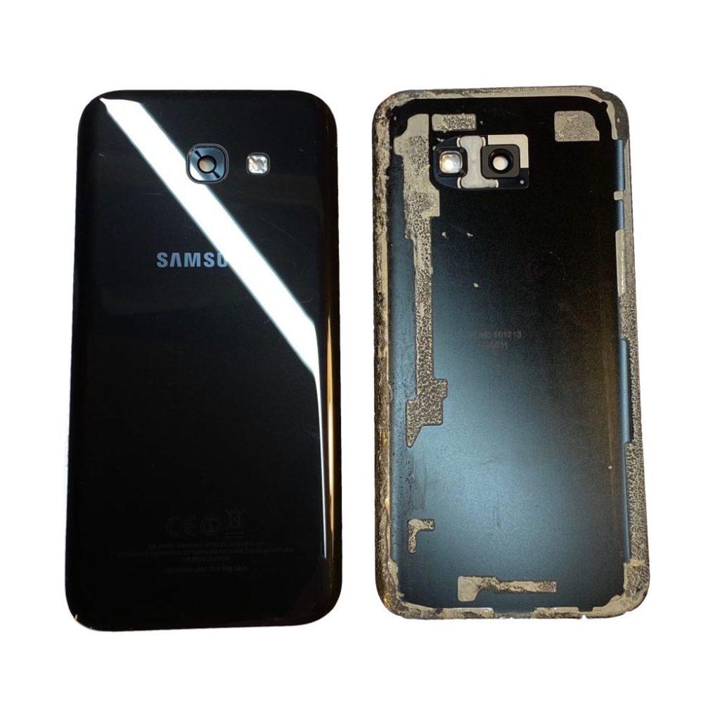 Samsung Galaxy A5 2017 zadní kryt baterie originální černý A520F Zánovní