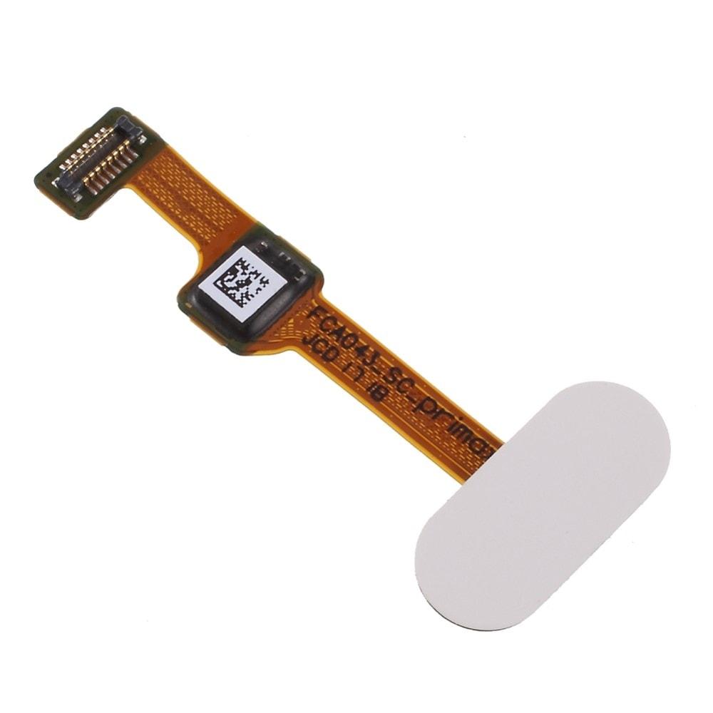 Oneplus 5 homebutton flex domovské tlačítko otisk prstu bílý
