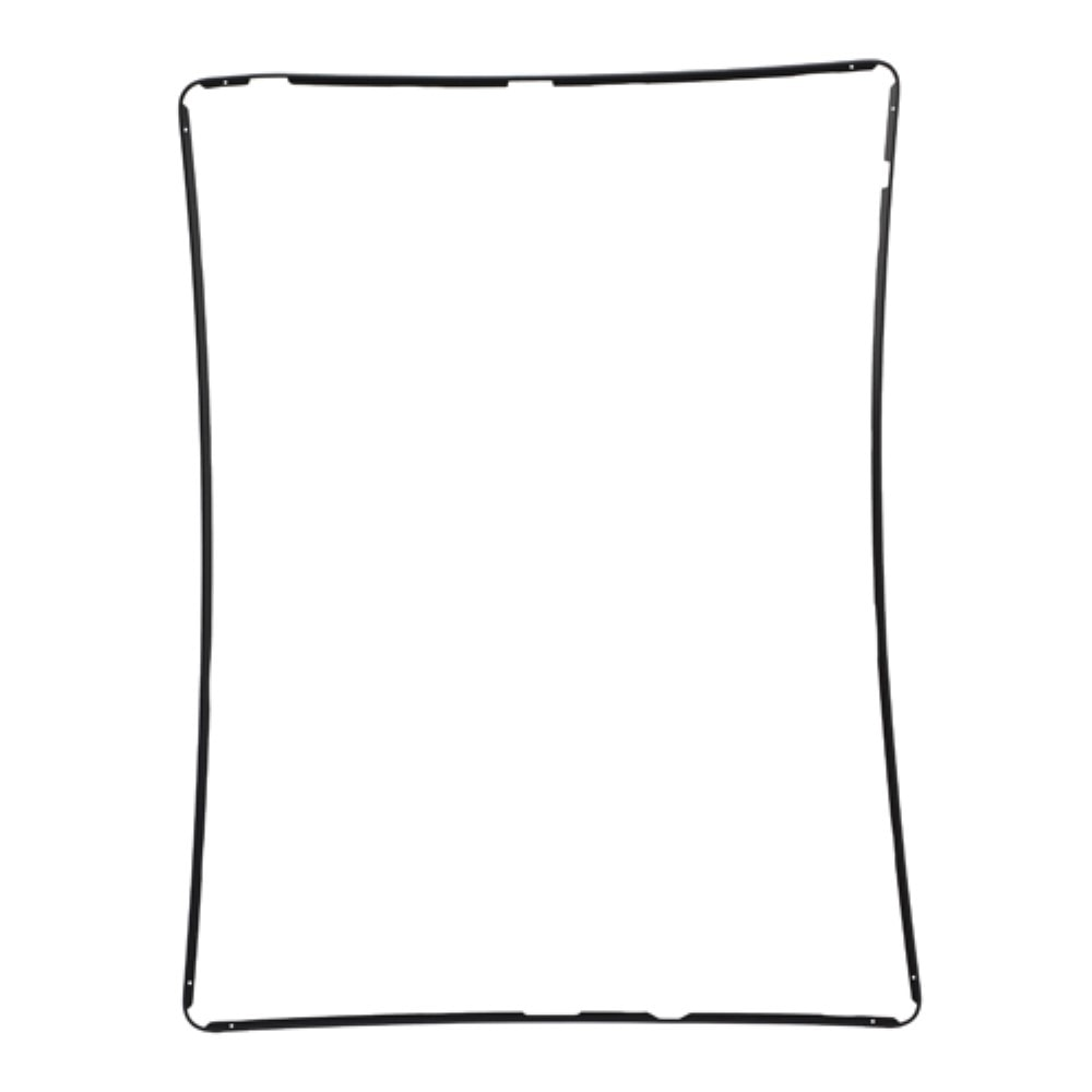 Apple iPad 2 3 4 středový rámeček dotykového skla černý