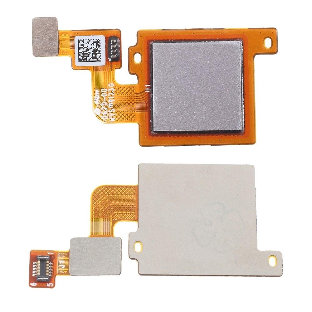 Xiaomi Mi A1 otiskt prstu čtečka flex stříbrný / šedý