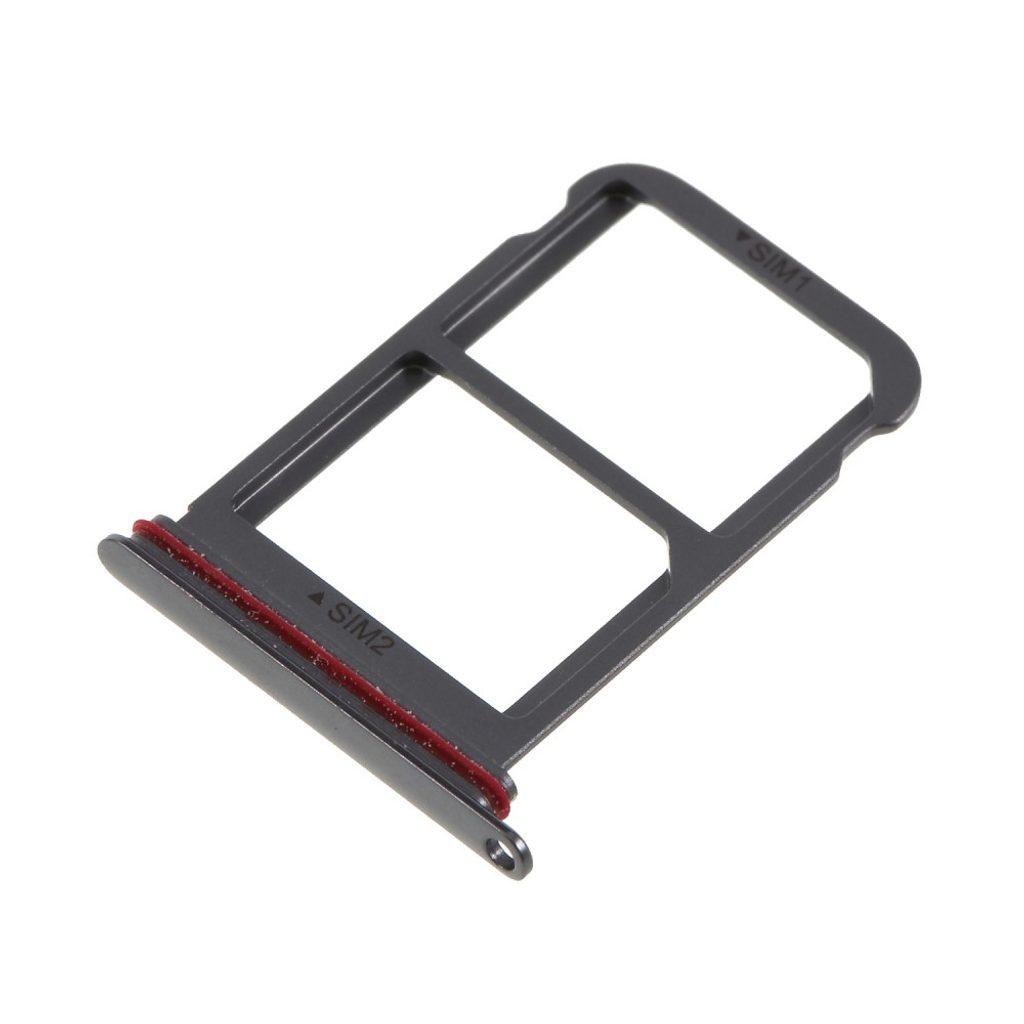Huawei P20 Pro šuplík na dual SIM šedý