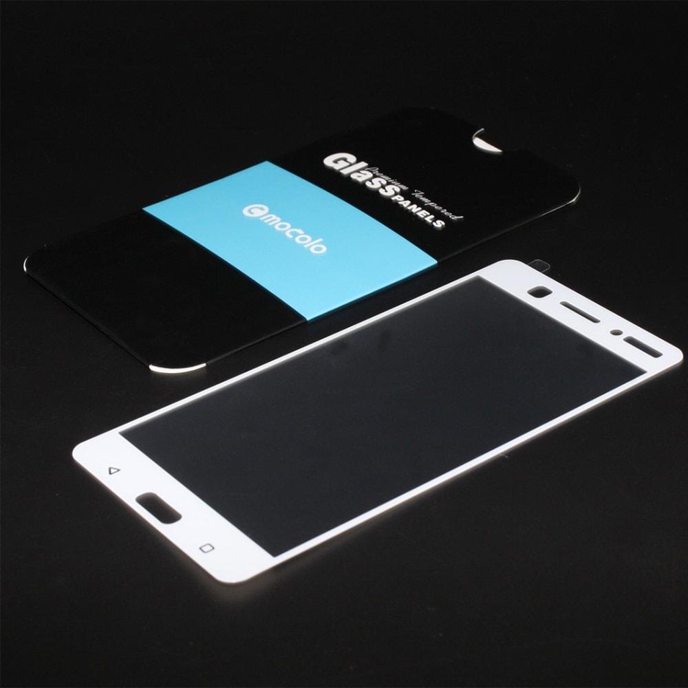 Nokia 6 Ochranné tvrzené sklo 3D Mocolo Bílé