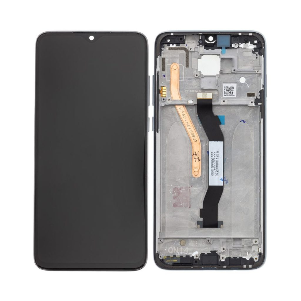 Xiaomi Redmi Note 8 PRO LCD dotykové sklo komplet přední panel (Service Pack)