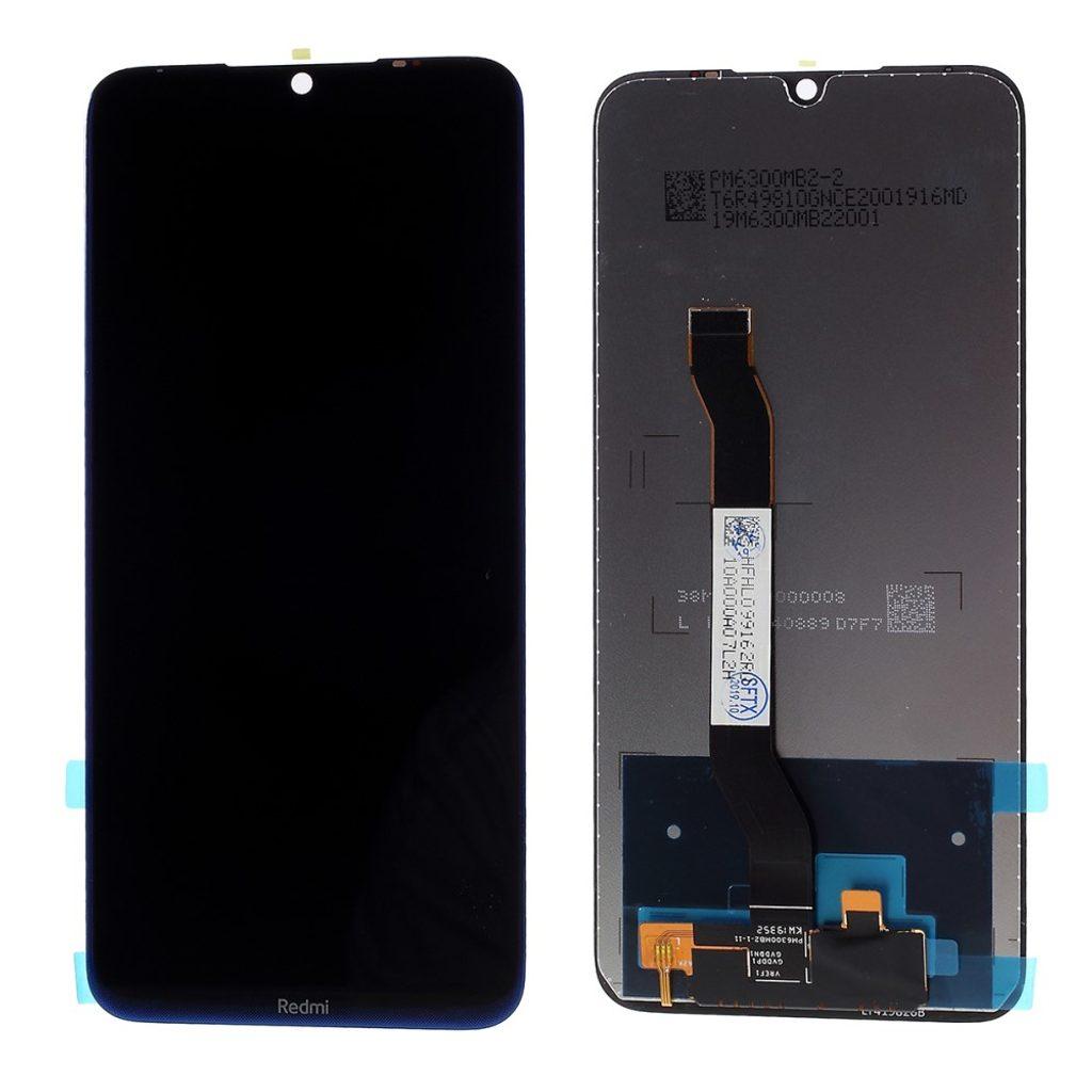 Xiaomi Redmi Note 8  LCD displej dotykové sklo komplet přední panel modrý