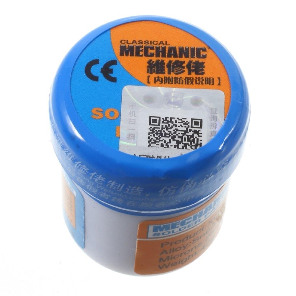 Pasta pro pájení 42g MCN-300 SMD SMT Sn63/Pb37