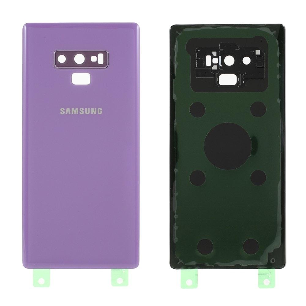 Samsung Galaxy Note 9 zadní kryt baterie světle fialová včetně osázení krytky fotoaparátu N960