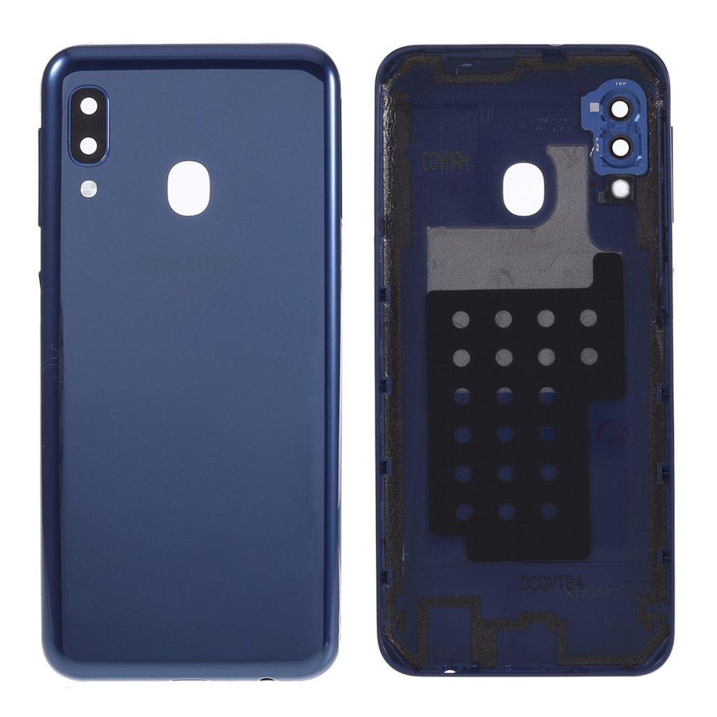 Samsung Galaxy A20e zadní kryt baterie modrý