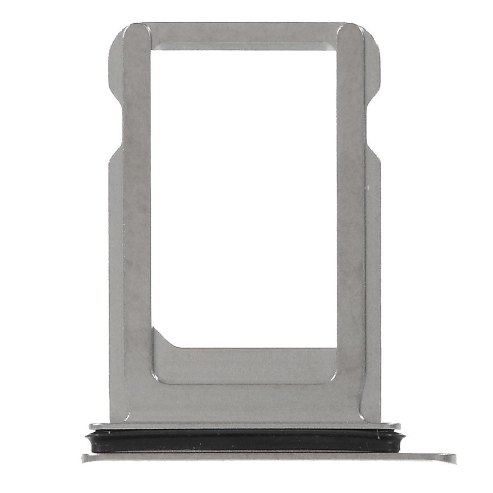Apple iPhone X šuplík na SIM kartu stříbrný