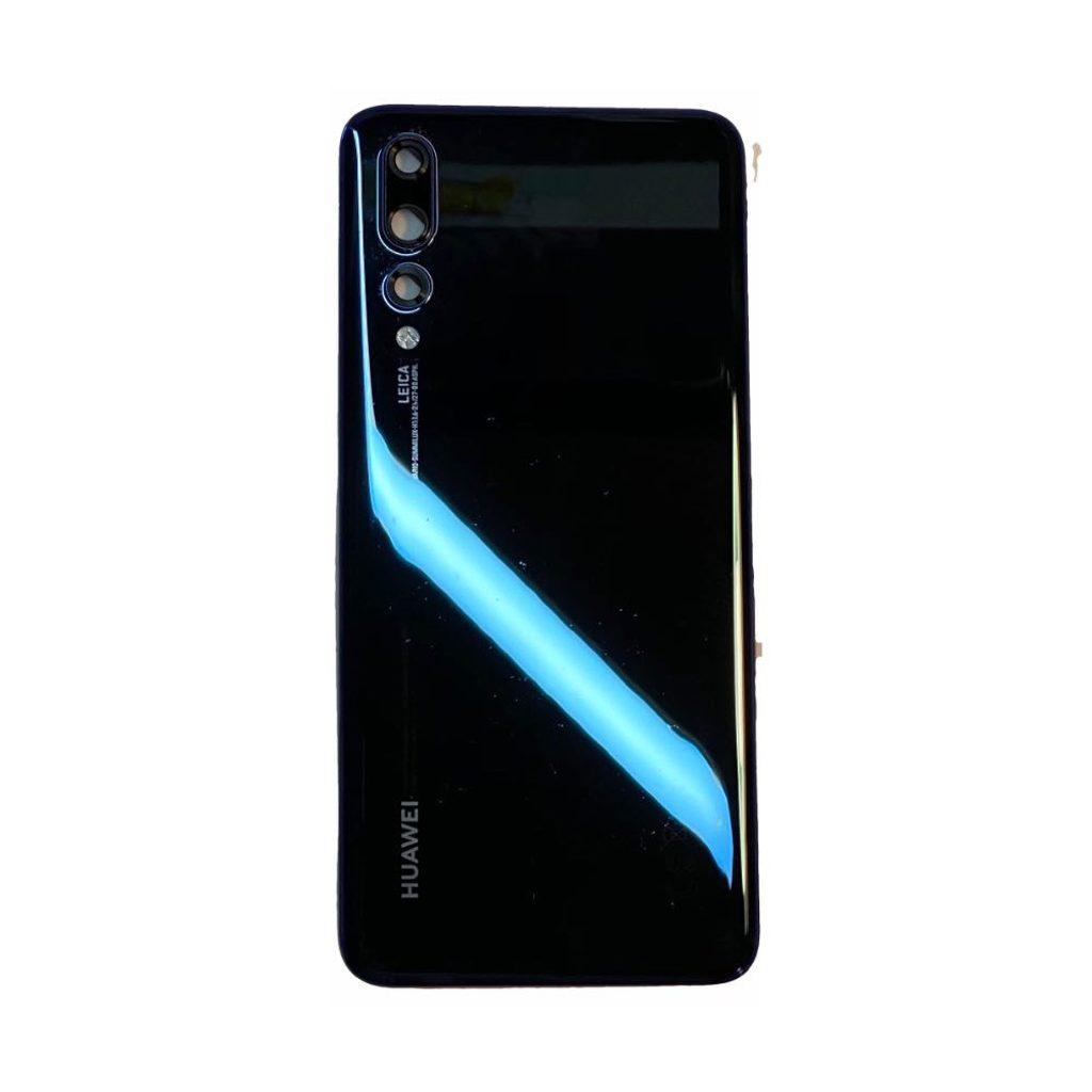 Huawei P20 Pro zadní kryt originální zánovní midnight blue včetně krytky fotoaparátu (CLT-L29)