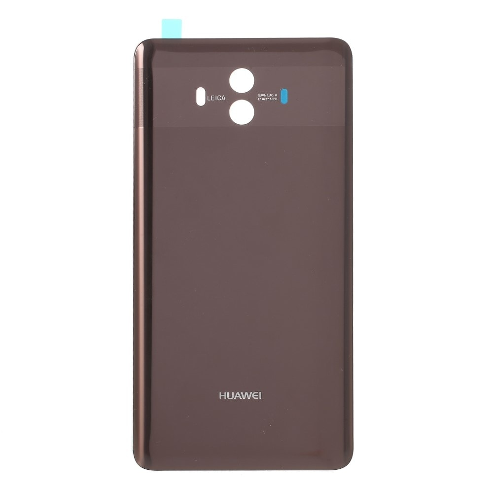 Huawei Mate 10 zadní skleněný kryt baterie hnědý