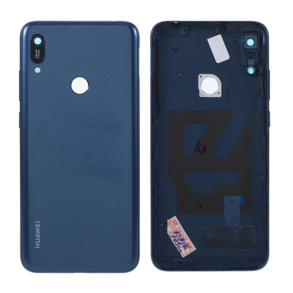 Huawei Y6 2019 zadní kryt baterie modrý