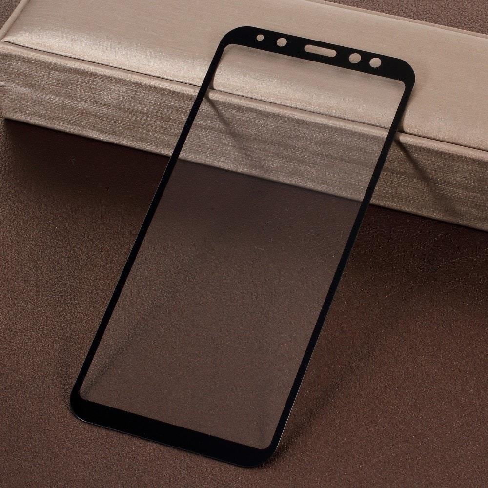 Samsung Galaxy A6 2018 Ochranné tvrzené sklo 5D černé