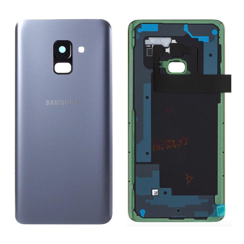 Samsung Galaxy A8 2018 zadní kryt šedý A530F (Service Pack)